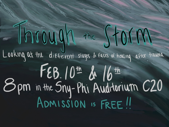RCAH Student Performs 'Through the Storm': Discussing Sexual Assault and the Healing Process